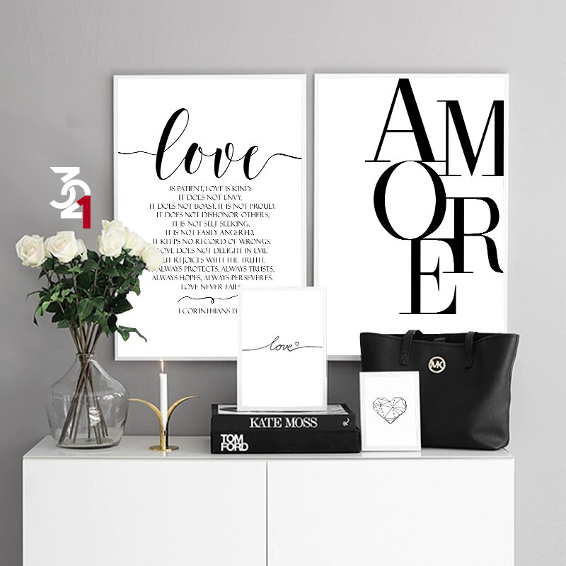 تایپوگرافی amore