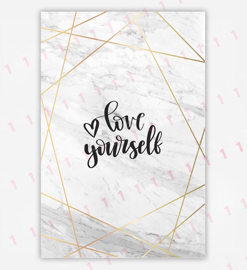 تایپوگرافی love yourself