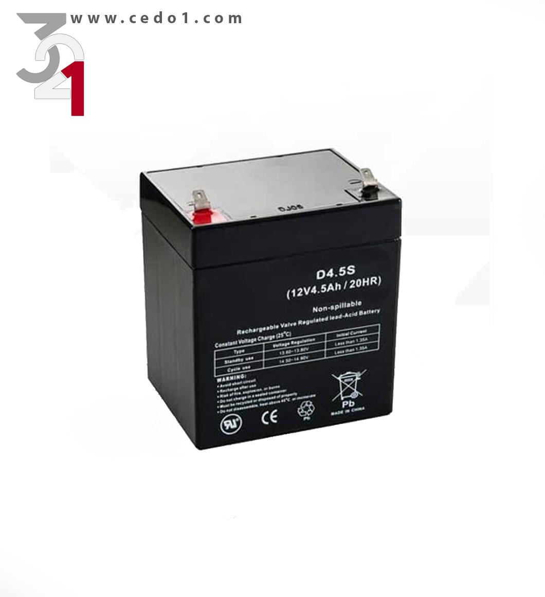 باتری ۱۲ ولت ۴٫۵ آمپر
